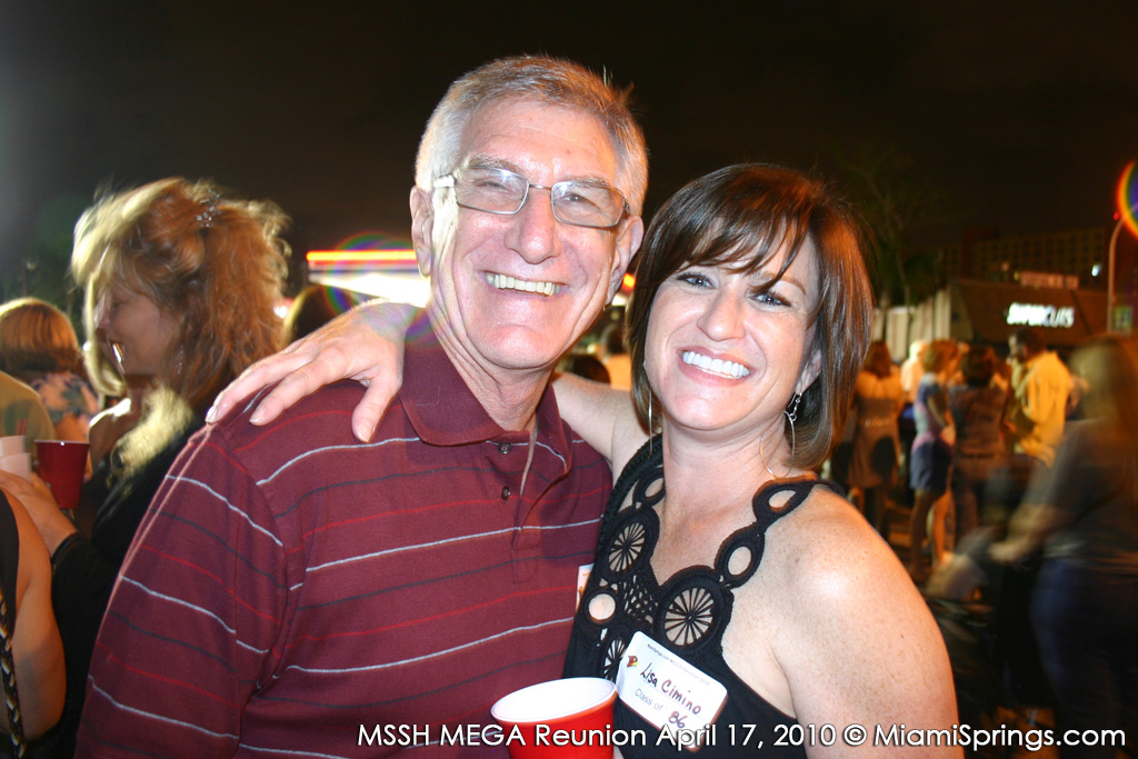 Larry Cohen and Lisa Cimino