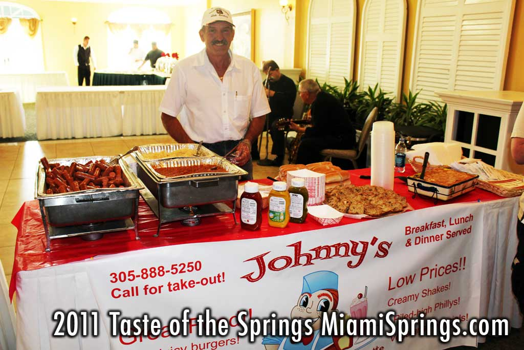 Johnnys at the Taste of the Springs