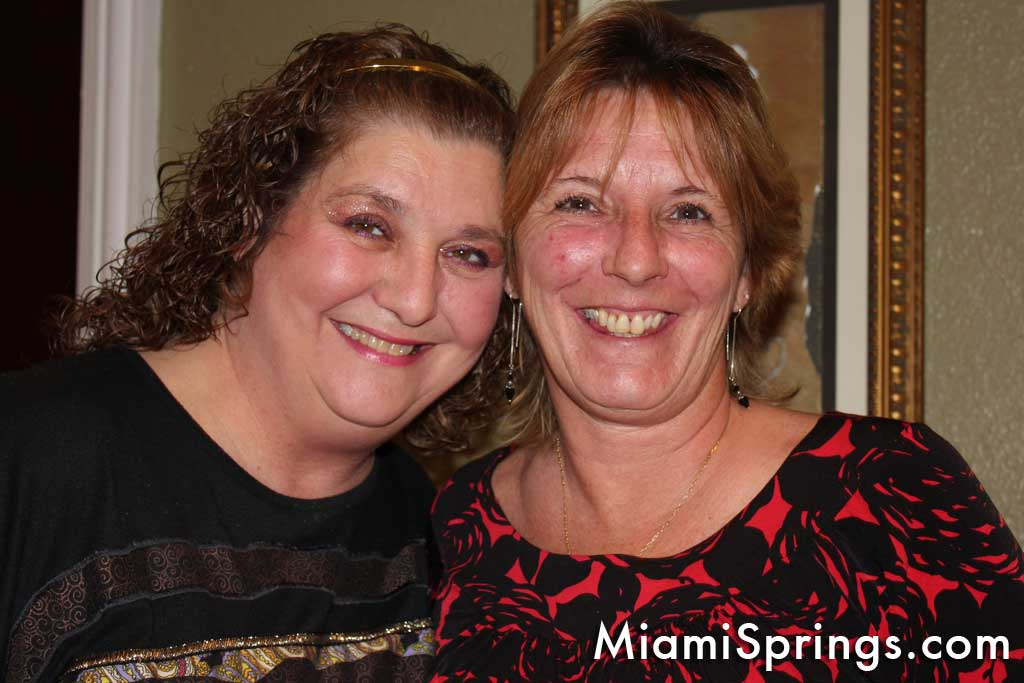 Lygia Turman and Festiva President Sandy Martini