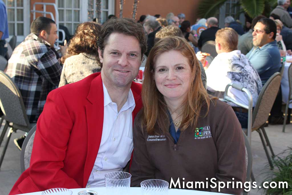Bill Tallman and Councilwoman Jennifer Ator