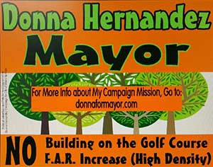 Donna for Mayor of Miami Springs