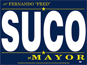 Fred Suco for Mayor of Miami Springs