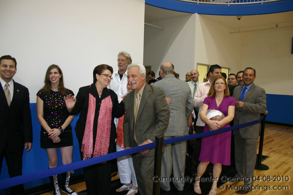 Community Center Grand Opening April 8, 2010