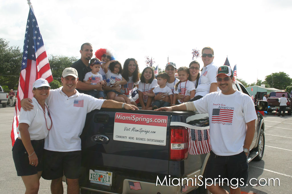 MiamiSprings.com Parade Crew