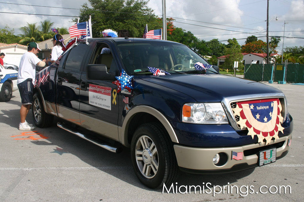 MiamiSprings.com Patriot Truck