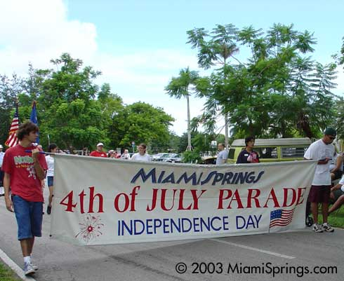 Miami Springs Independence Day Parade