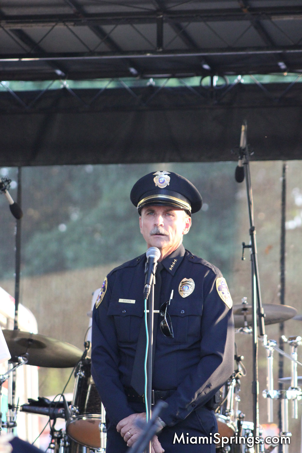 Miami Springs Police Chief Peter G. Baan
