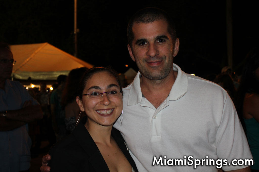 Liliana Mejia with her husband
